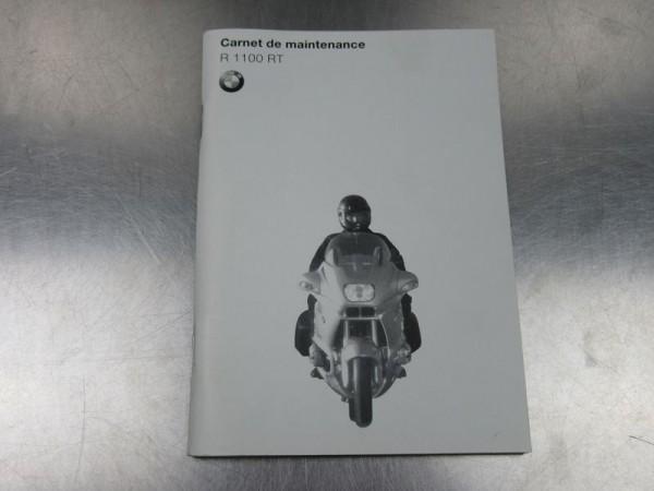 BMW R 1100 RT Wartungsanleitung französisch Technikteil R1100RT