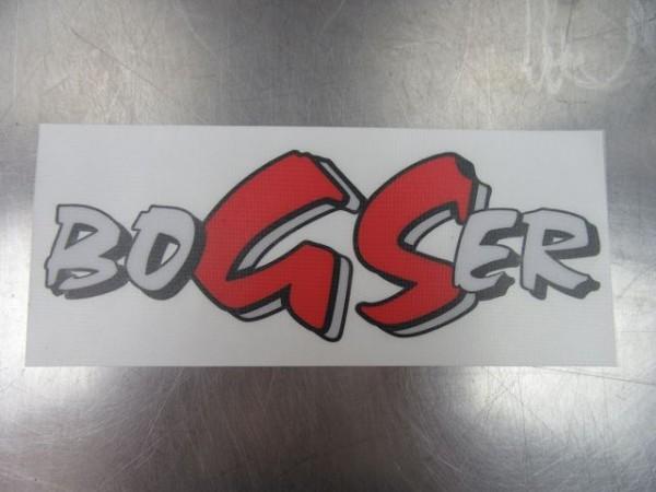 BMW R1200GS LC BoGSer-Aufkleber für GS Boxer Dekor Schriftzug rot R 850 1100 1150 GS