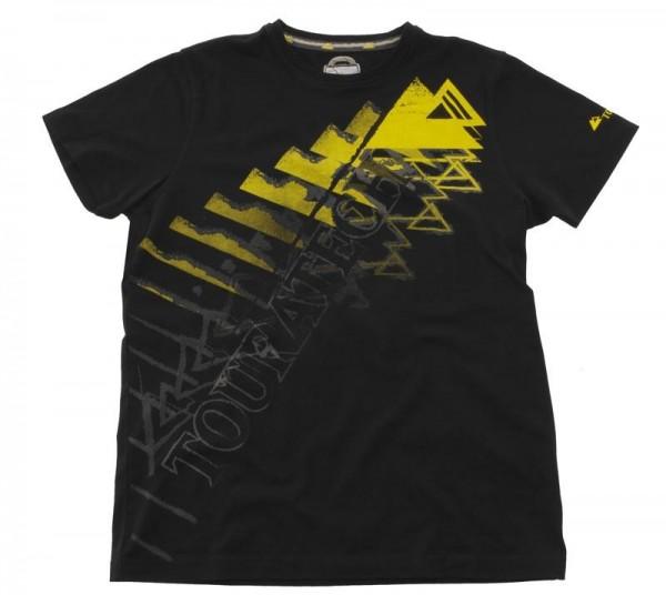 "TOURATECH T-Shirt ""Triangel"" Shirt mit Rundhalsausschnitt Herren schwarz NEU"