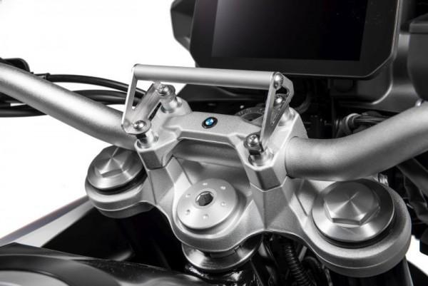 BMW F 750 850 GS Touratech GPS-Anbauadapter auf Lenkerklemmung GPS-Halter/Navi-Halter