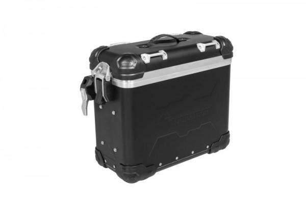 """Touratech ZEGA Evo """"And-Black"""" Aluminium Koffer, 31 Liter, rechts"""