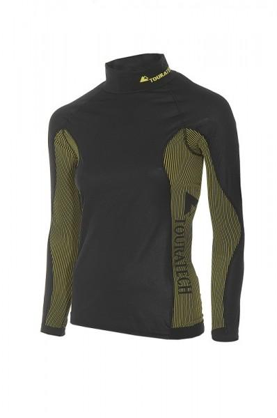 """Funktionsunterwäsche Longshirt Shirt """"Touratech Primero Storm"""" Damen schwarz NEU"""