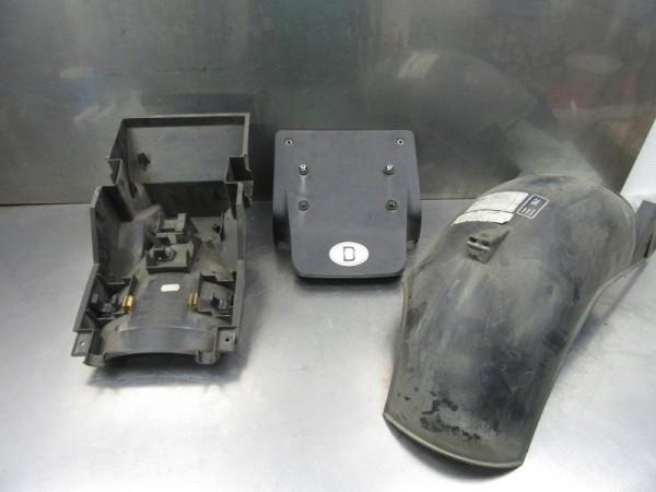 BMW K1200LT original Hinterradabdeckung Spritzschutz Kennzeichenhalter Heckträgerteil K 1200 LT