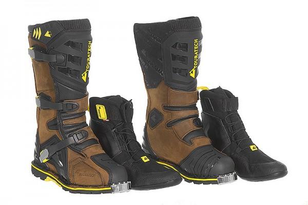 TOURATECH Motorrad Stiefel Schuhe DESTINO Adventure Brown braun NEU