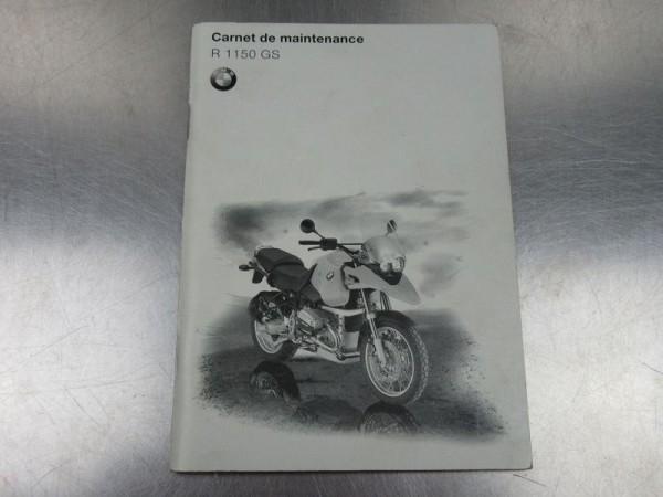 BMW R 1150 GS Wartungsanleitung französisch Technikteil R1150GS