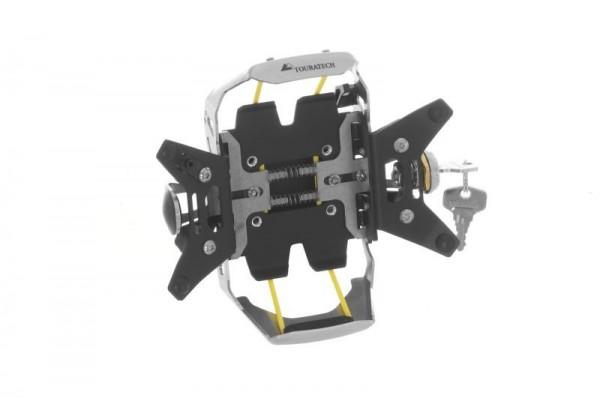 Touratech Lenkerhalterung Garmin zumo 590 / 595 LM *abschließbar* schwarz