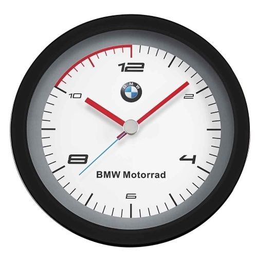 BMW Motorrad Motorsport Wanduhr Uhr Kollektion Geschenkidee Fanartikel NEU