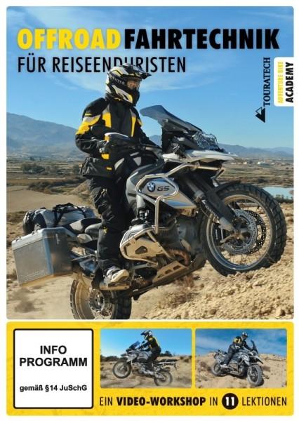 """TOURATECH Video DVD """"Offroad-Fahrtechnik für Reiseenduristen"""""""