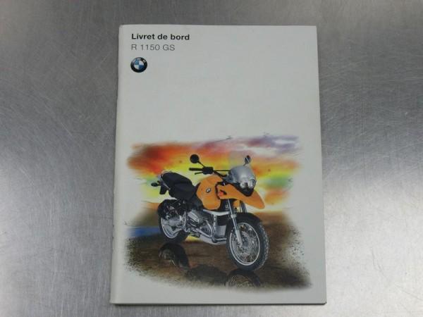 BMW R 1150 GS Bedienungsanleitung französisch Betriebsanleitung R1150GS Bedienteil