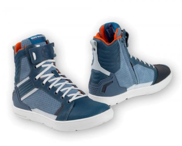 BMW Sneaker Ride Unisex blau Motorradschuhe mit Protektoren