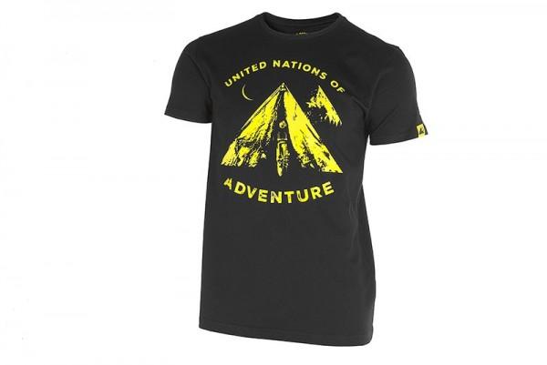 """TOURATECH T-Shirt Shirt """"Tent"""" Herren schwarz NEU"""