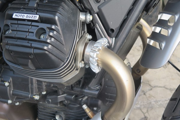 Moto Guzzi V85 Sternmutter Auspuffkrone Krümmermutter