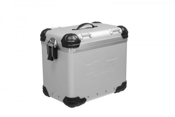 "Touratech ZEGA Evo ""And-S"" Aluminium Koffer 45 Liter links"