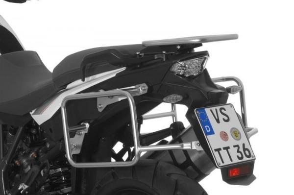 Kofferträger Edelstahl für KTM 1050 Adventure/ 1090 Adventure/ 1290 Super Adventure/ 1190 Adventure/