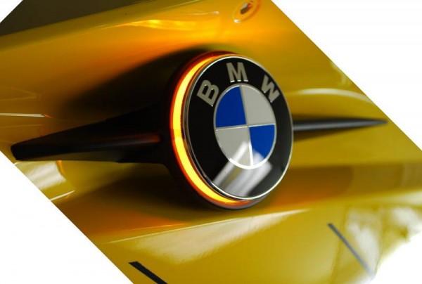 BMW K1200S LED Emblemblinker Emblem Blinker einfarbig K 1200 S