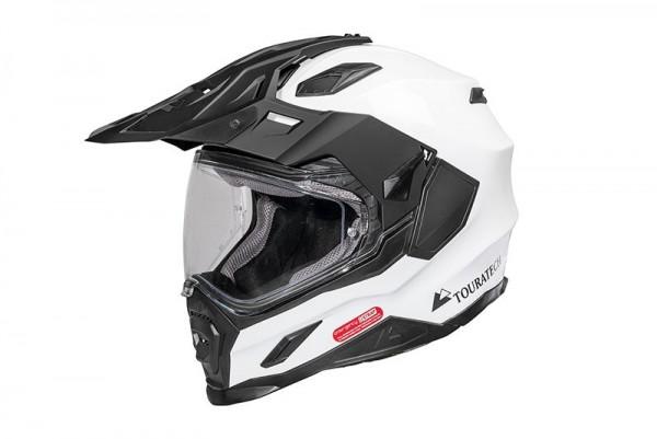 Helm Touratech Aventuro Carbon2, White