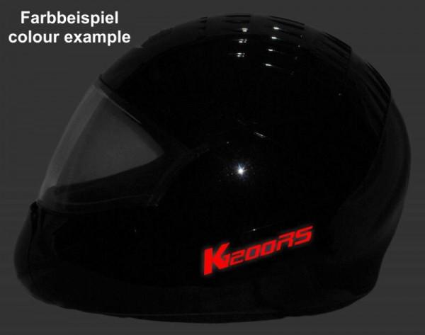 BMW K1200RS Helmaufkleber Helm Aufkleber reflektierend im Stil Typ2