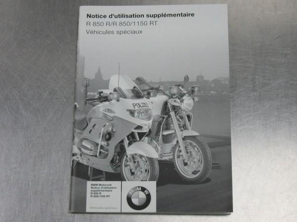 BMW R1150RT Bedienungsanleitung französisch Betriebsanleitung R850RT R850R
