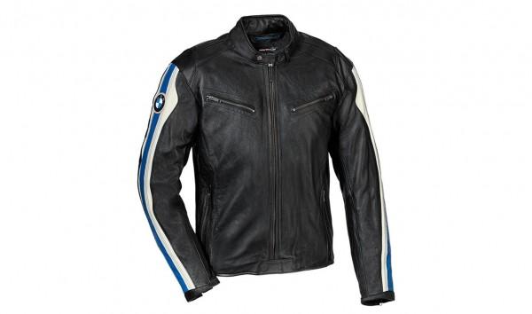 original BMW Motorradjacke Lederjacke Jacke Club Leder Herren schwarz