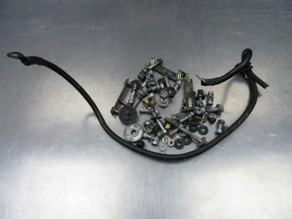 BMW R100R R80R Restekiste Schrauben Fahrgestell Massekabel R 100 80 R