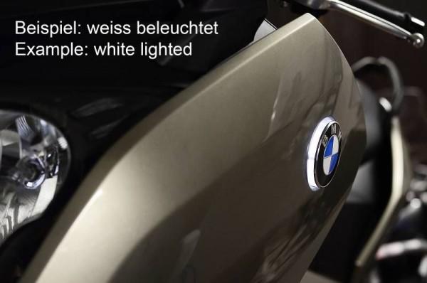 BMW C650GT C600Sport Zweifarbige LED Emblemblinker C 650 GT C 600 Sport