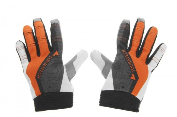 TOURATECH Handschuh Motorcross Handschuhe MX-Lite orange