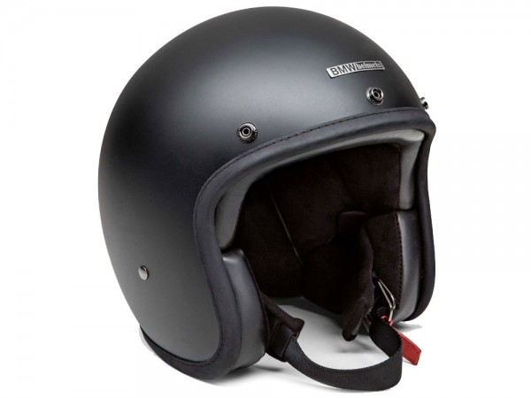 BMW Motorrad Jethelm Helm Bowler Black Matt
