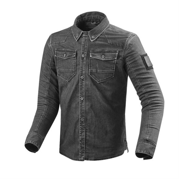 Revit Jeanshemd Überhemd Hudson mit Protektoren
