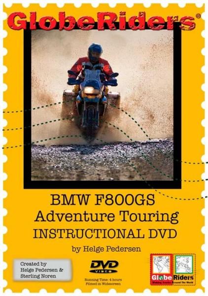 Video DVD Globeriders BMW F800GS Adventure Touring Instructional DVD Englisch