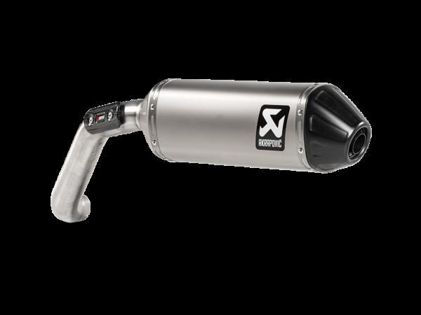 Akrapovic Slip-On Line (Titanium) Auspuff für Moto Guzzi V85 TT ab 2019