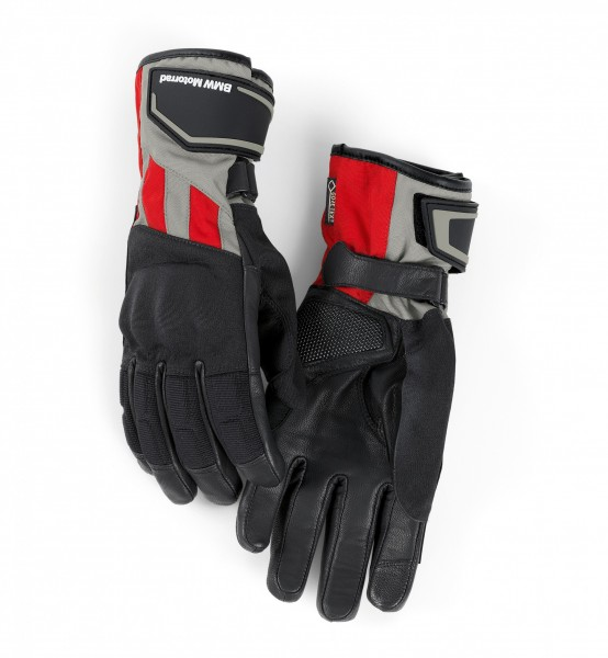 BMW Motorrad Handschuh GS Dry Herren rot / grau