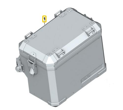bmw f 800 gs + adventure aluminium koffer links | koffer und