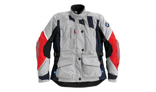 BMW Motorrad Jacke GS Dry Damen Grau Rot