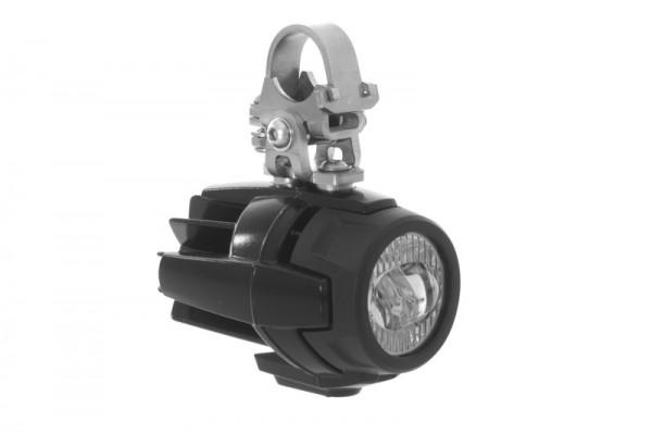 Touratech Adaptersatz für original BMW LED Zusatzscheinwerfer auf Sturzbügelerweiterung für BMW R120