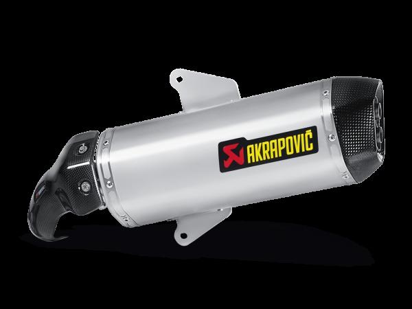 Akrapovic Slip-On Line (SS) Auspuff für Aprilia SRV 850 ab 2013 Gilera GP 800 ab 2012