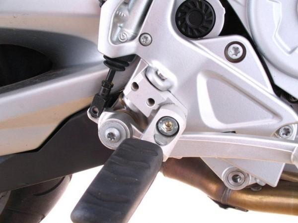 BMW K1100RS K100RS Fahrer Fußrastentieferlegung verstellbar 40mm tiefer ABE
