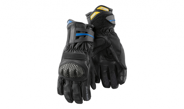 BMW Motorradhandschuh Handschuh 2in1 EnduroGuard schwarz/grau