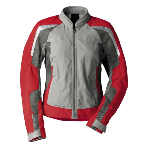 bmw motorrad jacke motorradjacke sommerjacke airflow herren rot grau neu ebay. Black Bedroom Furniture Sets. Home Design Ideas