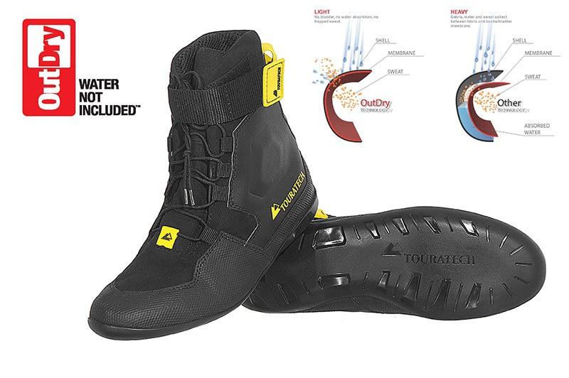 Details about TOURATECH Motorrad Stiefel Schuhe DESTINO Adventure Black schwarz NEU