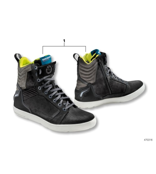 bmw original motorrad unisex freizeit schuhe sneaker dry. Black Bedroom Furniture Sets. Home Design Ideas