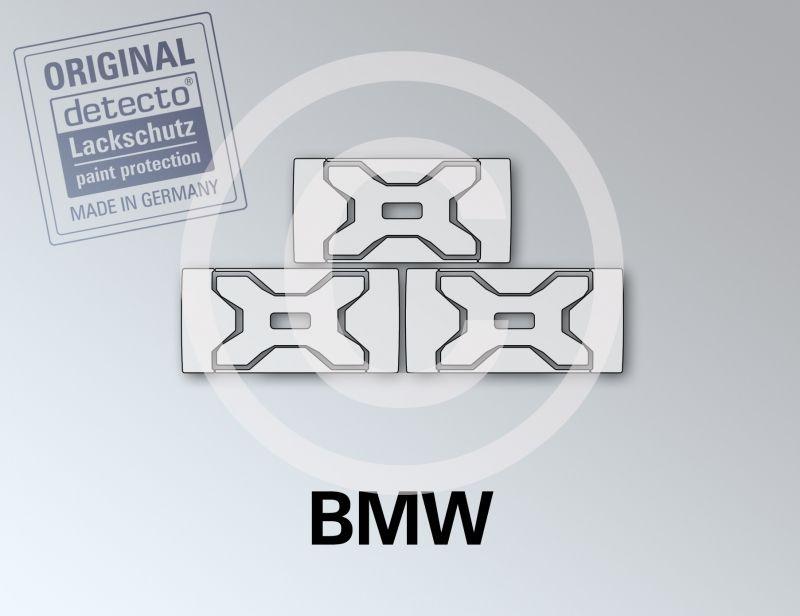 schwarz matt BMW R1250GS Lackschutzfolie Set Vario Koffer 15-teilig R 1250GS